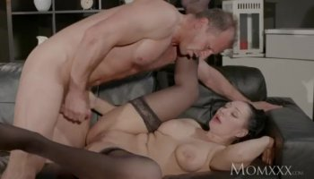 Cock hungry Michelle got pounded hard in numerous positions