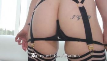 Spanish hottie Claudia Bavel riding Nacho's dick