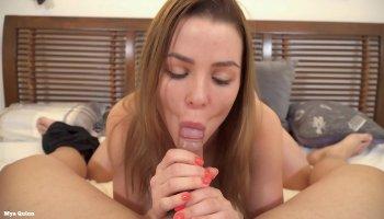 Fucking a wet bushy japanese pussy