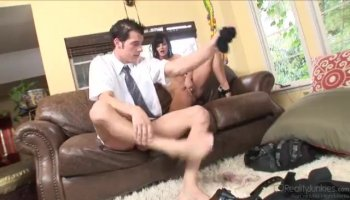 Glam hoe sixty nining and fucking spoon style late