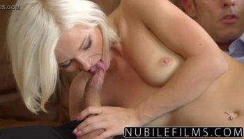 Young Noelle Easton showing and masturbating