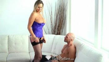 Natalie Rosa and a big black cock